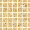 TRA0130 - 1x1 Giallo Unfilled & Tumbled Mosaic