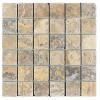 TRA0282 - 2x2 Gold Coast Unfilled & Tumbled Mosaic