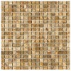 TRA5887 - 5by8 X 5by8 Travertine Gold Coast Polished & Straight Edge