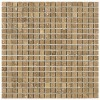 TRA5817 - 5by8 X 5by8 Travertine Noce Polished & Straight Edge