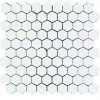 MARHX20 - 1.25x1.25 Hexagon Dolomite White Polished